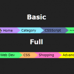 Directional Statusline In Pure CSS – Powerline.css