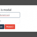 Bootstrap Style Accessible Modal Window In Pure JavaScript – accessible-minimodal