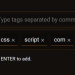 Convenient Tags Input In Plain JavaScript – tags-input.js