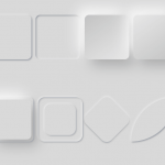 Neumorphic Style CSS Shapes