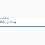 Animated Floating Input Placeholder In Pure CSS