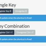Create Custom Key Binding Events – Shortcut.js