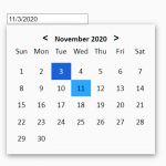 Minimalist Date Picker Web Component – Carbox