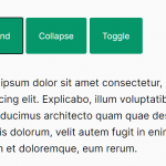 Accessible Content Toggle JavaScript Library – MinimalCollapse.js
