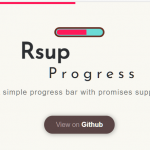 Easy Progress Bar Engine With Promise Support – Rsup Progress