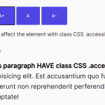 Increase & Decrease Font Size To Improve Page Accessibility – Accessibility.js