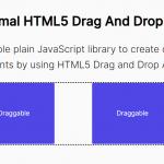 Minimal HTML5 Drag And Drop JavaScript Library – dragndrop.js