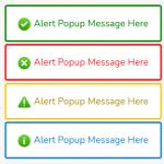 Simple Alert Popup JavaScript Library – Toastifier