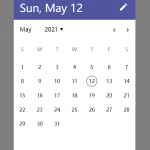 Android Style Date Picker With Plain JavaScript – m-datepicker.js