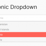 Minimal Select Box Replacement – Iconic Dropdown