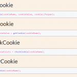 Tiny Cookie Manipulation JavaScript Library – cookieManager.js