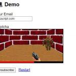 DOOM Video Game Captcha In JavaScript