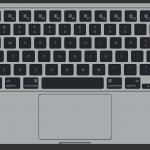 CSS Only Mac Keyboard & Trackpad
