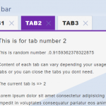 Create Dynamic Tabs With Live Data – LiveTabs