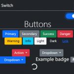 Dark & Light Mode Switcher For Bootstrap 5