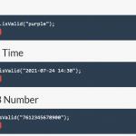 Versatile Data Validation JavaScript Library