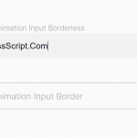 Floating Input Placeholder In Pure CSS