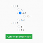 Hierarchical Tree With Radio Buttons – ninotree