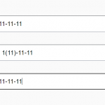 Real-time Input Field Formatting – input-mask.js