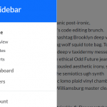 Responsive Sidebar Using Bootstrap 5 Offcanvas