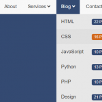 CSS Only Responsive Dropdown Navigation