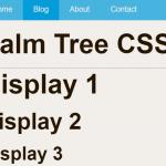 Minimalist CSS Framework – Palm Tree