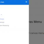 Simple Multi-level Offcanvas Menu In Vanilla JavaScript