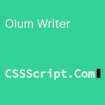 Render Text In A Typewriter Style – OlumWriter